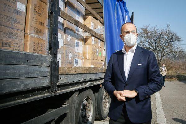 Donacija medicinske zaštitne opreme u sklopu Mehanizma civilne zaštite