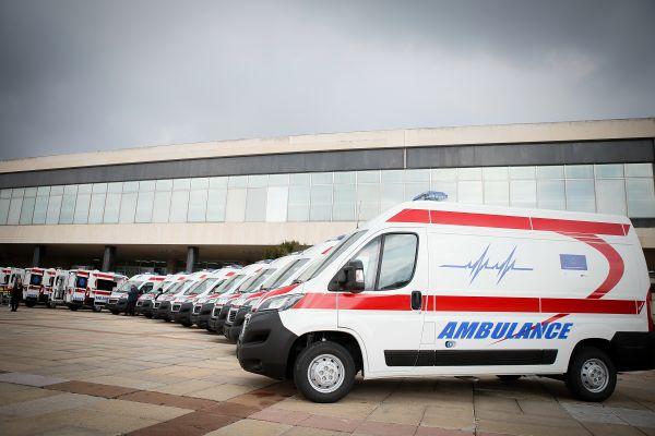 Zdravstvene ustanove širom Srbije dobile nova sanitetska vozila sa modernom opremom, zahvaljujući sredstvima Evropske unije