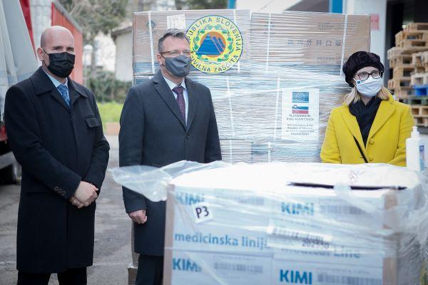 EU podrška Slovenija Srbiji u borbi protiv koronavirusa